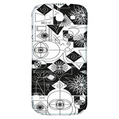 Point Line Plane Themed Original Design Samsung Galaxy S3 S Iii Classic Hardshell Back Case by Jojostore