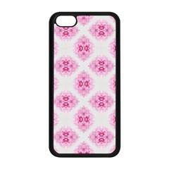 Peony Photo Repeat Floral Flower Rose Pink Apple Iphone 5c Seamless Case (black) by Jojostore