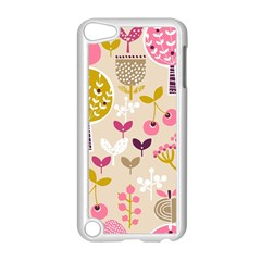 Retro Fruit Leaf Tree Orchard Apple Ipod Touch 5 Case (white) by Jojostore