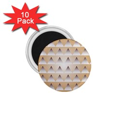 Pattern Retro Background Texture 1.75  Magnets (10 pack)  by Nexatart