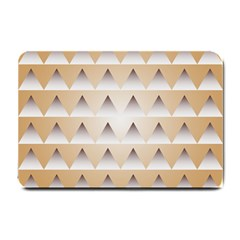 Pattern Retro Background Texture Small Doormat  by Nexatart