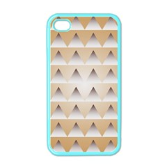 Pattern Retro Background Texture Apple Iphone 4 Case (color) by Nexatart