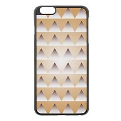 Pattern Retro Background Texture Apple Iphone 6 Plus/6s Plus Black Enamel Case