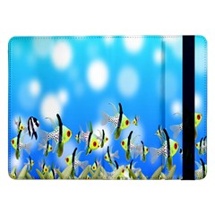 Pisces Underwater World Fairy Tale Samsung Galaxy Tab Pro 12 2  Flip Case