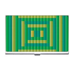Pattern Grid Squares Texture Business Card Holders