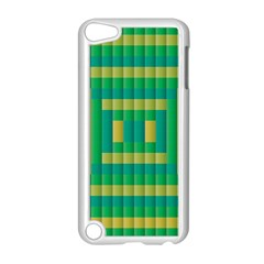Pattern Grid Squares Texture Apple Ipod Touch 5 Case (white)