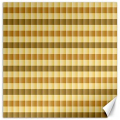 Pattern Grid Squares Texture Canvas 16  X 16   by Nexatart