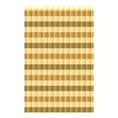 Pattern Grid Squares Texture Shower Curtain 48  X 72  (small)  by Nexatart