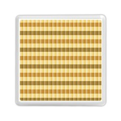 Pattern Grid Squares Texture Memory Card Reader (square)  by Nexatart