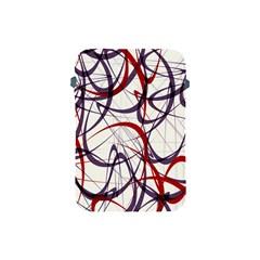 Purple Red Apple Ipad Mini Protective Soft Cases by Jojostore