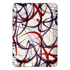 Purple Red Kindle Fire HDX Hardshell Case