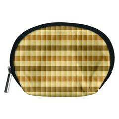 Pattern Grid Squares Texture Accessory Pouches (medium)