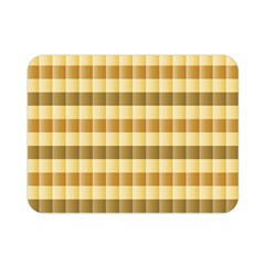 Pattern Grid Squares Texture Double Sided Flano Blanket (Mini)