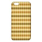 Pattern Grid Squares Texture iPhone 6 Plus/6S Plus TPU Case Front