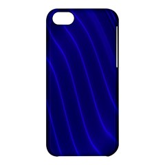 Sparkly Design Blue Wave Abstract Apple Iphone 5c Hardshell Case by Jojostore