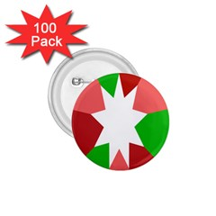 Star Flag Color 1.75  Buttons (100 pack)