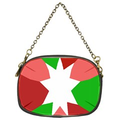 Star Flag Color Chain Purses (one Side)  by Jojostore