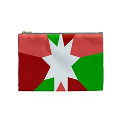 Star Flag Color Cosmetic Bag (medium)  by Jojostore