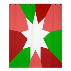 Star Flag Color Shower Curtain 60  X 72  (medium)  by Jojostore