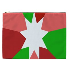 Star Flag Color Cosmetic Bag (xxl)  by Jojostore