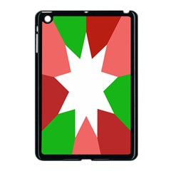 Star Flag Color Apple iPad Mini Case (Black) by Jojostore