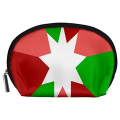 Star Flag Color Accessory Pouches (large)  by Jojostore