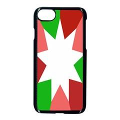 Star Flag Color Apple Iphone 7 Seamless Case (black) by Jojostore