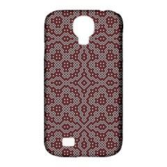 Simple Indian Design Wallpaper Batik Samsung Galaxy S4 Classic Hardshell Case (pc+silicone) by Jojostore