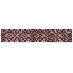 Simple Indian Design Wallpaper Batik Flano Scarf (large)