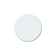 Web Grey Flower Pattern Golf Ball Marker (4 Pack) by Jojostore