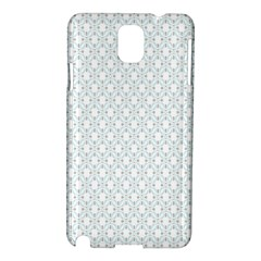 Web Grey Flower Pattern Samsung Galaxy Note 3 N9005 Hardshell Case by Jojostore