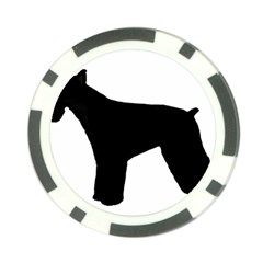 Giant Schnauzer Silo Poker Chip Card Guard (10 pack) by TailWags
