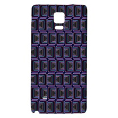 Psychedelic 70 S 1970 S Abstract Galaxy Note 4 Back Case by Nexatart