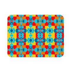 Pop Art Abstract Design Pattern Double Sided Flano Blanket (mini)  by Nexatart