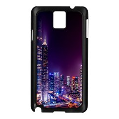 Raised Building Frame Samsung Galaxy Note 3 N9005 Case (black)