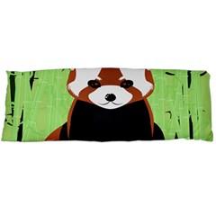 Red Panda Bamboo Firefox Animal Body Pillow Case Dakimakura (two Sides) by Nexatart