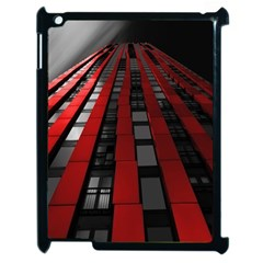 Red Building City Apple Ipad 2 Case (black)