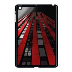 Red Building City Apple Ipad Mini Case (black)