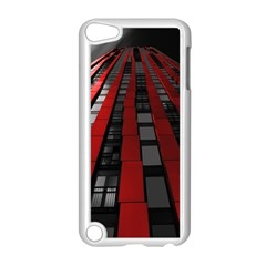 Red Building City Apple Ipod Touch 5 Case (white)