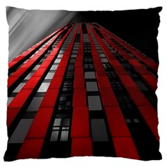 Red Building City Standard Flano Cushion Case (two Sides) by Nexatart