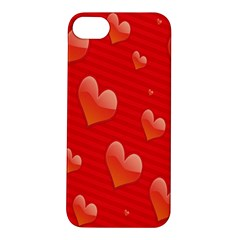 Red Hearts Apple Iphone 5s/ Se Hardshell Case