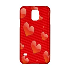 Red Hearts Samsung Galaxy S5 Hardshell Case
