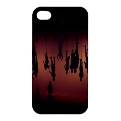 Silhouette Of Circus People Apple Iphone 4/4s Hardshell Case