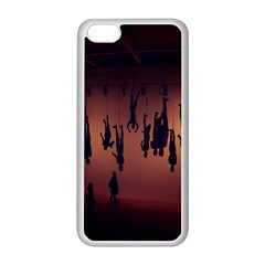 Silhouette Of Circus People Apple Iphone 5c Seamless Case (white)