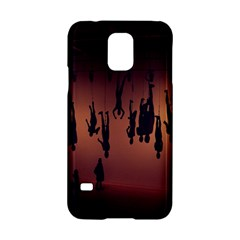 Silhouette Of Circus People Samsung Galaxy S5 Hardshell Case