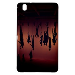 Silhouette Of Circus People Samsung Galaxy Tab Pro 8 4 Hardshell Case