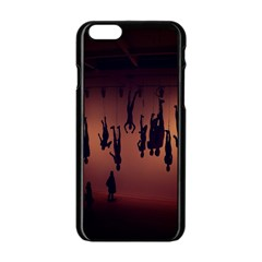 Silhouette Of Circus People Apple Iphone 6/6s Black Enamel Case