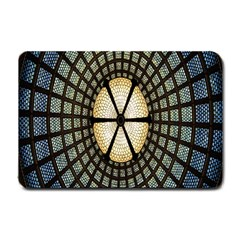 Stained Glass Colorful Glass Small Doormat
