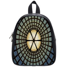 Stained Glass Colorful Glass School Bags (small)  by Nexatart
