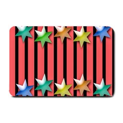 Star Christmas Greeting Small Doormat